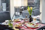 LINDNER Hotel Dom Residence; Köln; Cologne; CGNDOM; Frühstück; Breakfast; 13